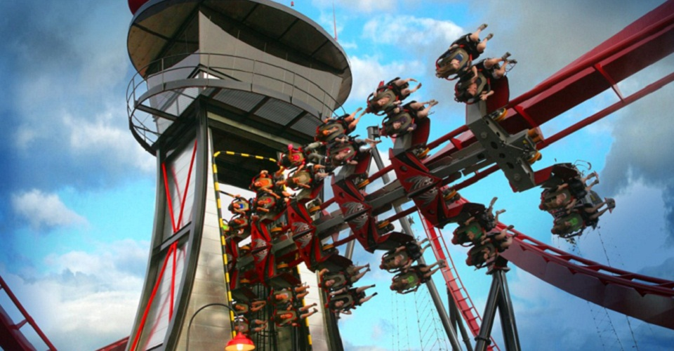 X Flight – Six Flags Great America