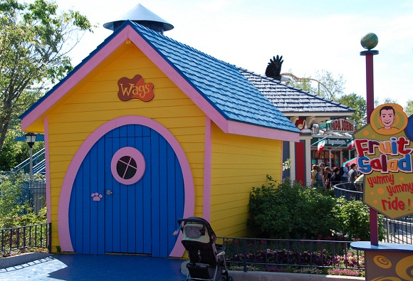 Wiggles World designed by Bleck & Bleck Architects