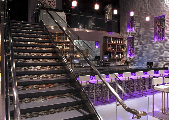 Shakou Sushi designed by Bleck & Bleck Architects