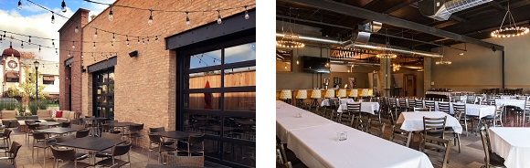Mickey Finn's Brewery in Libertyville designed by Bleck & Bleck Architects