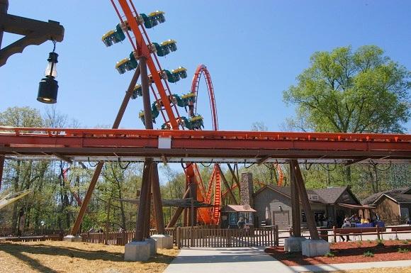 Thunderbird roller coaster - Holiday World & Splashin' Safari