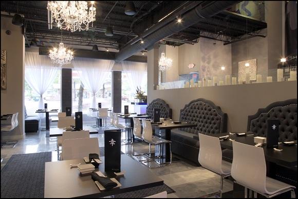 Shakou Sushi St. Charles, designed by Bleck & Bleck Architects LLC