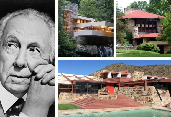 an overview of architect frank lloyd wrights famous architects The frank lloyd wright school of architecture was founded 1932 when a group of 23 aspiring architects relocated to live and learn at taliesin in spring green, wisconsin.