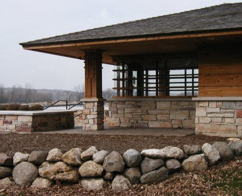 Fox River Grove Shelter - Lake County Forest Preserve