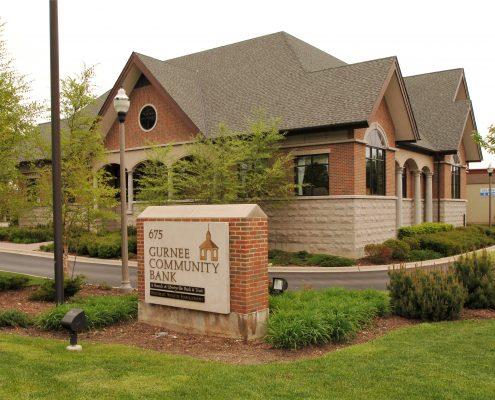 Gurnee Community Bank Building Exterior