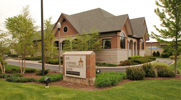 Gurnee Community Bank Building Exterior