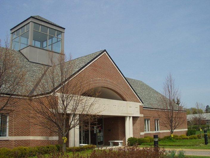 Gurnee Village Hall building exterior.