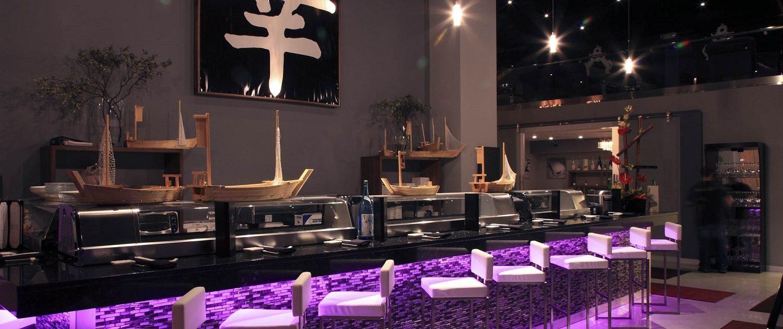 Sushi bar at Shakou Libertyville