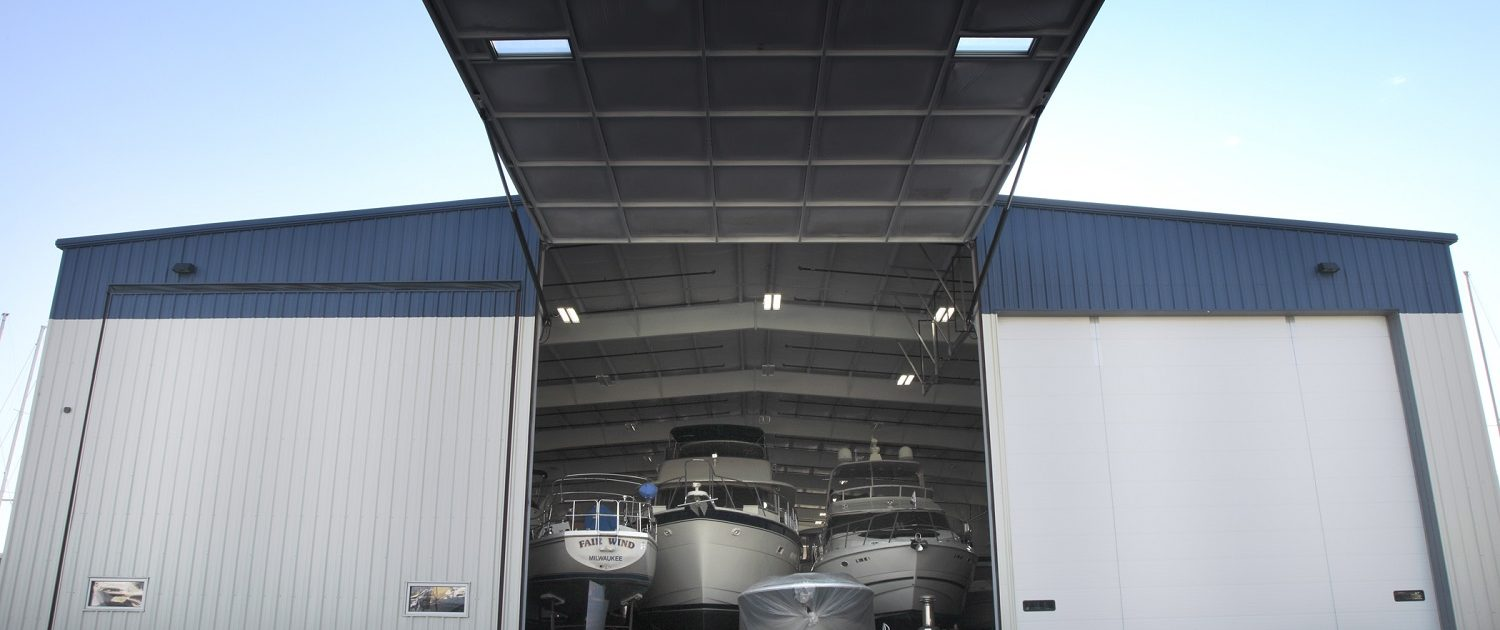 Larsen Marine - Boat Warehouse Oversized Doors