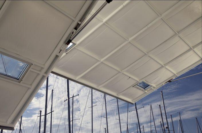 Larsen Marine - Boat Warehouse Giant Hydraulic Door