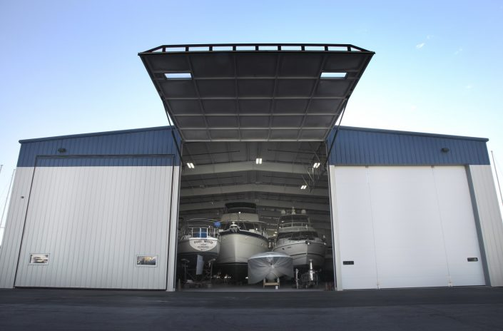 Larsen Marine - Boat Warehouse Oversized Doors