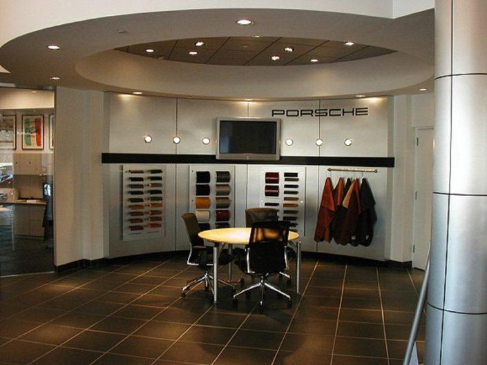 Porsche Exchange design center.
