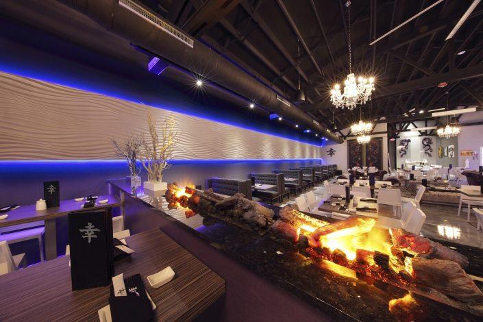 Shakou Park Ridge dining and lounge area