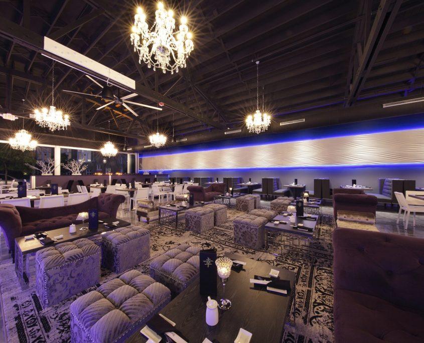Shakou Park Ridge dining/lounge area