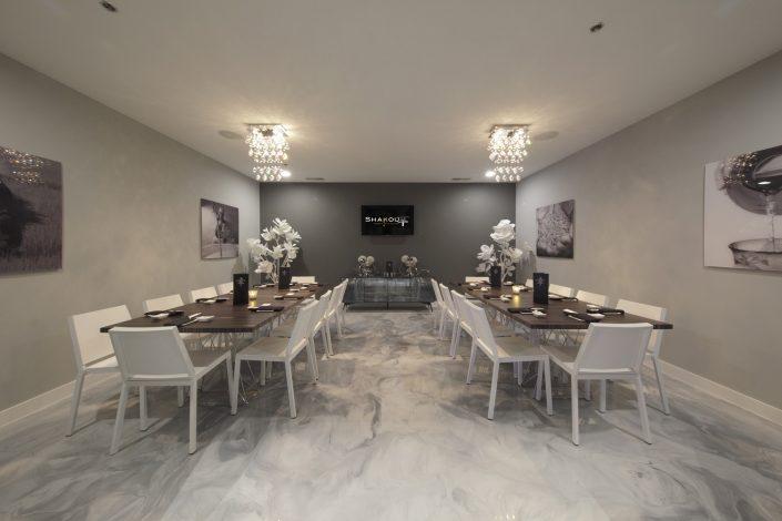 Shakou Park Ridge private dining room