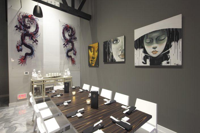 Shakou Park Ridge dining area