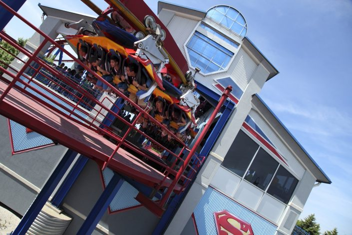 Six Flags Great America - Superman launch station