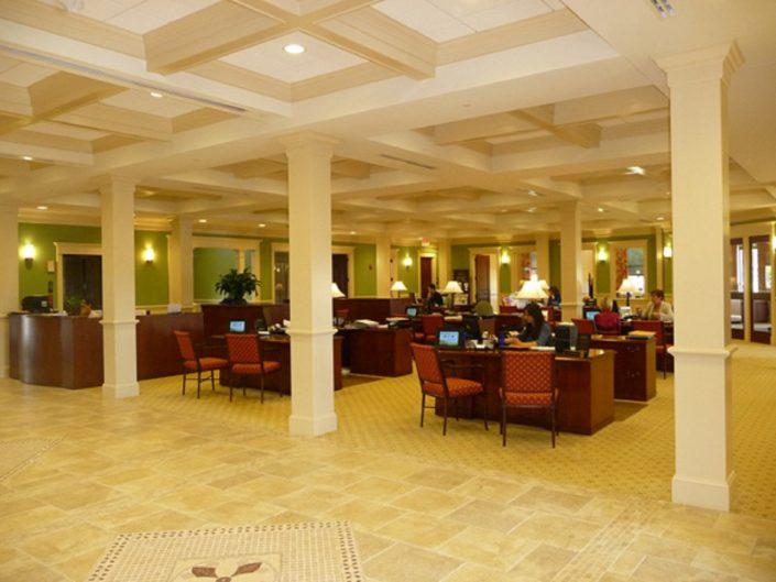 Vernon Hills Bank & Trust Lobby