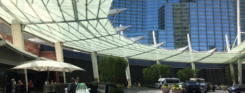 Shade Structures: awing at the Aria in Las Vegas