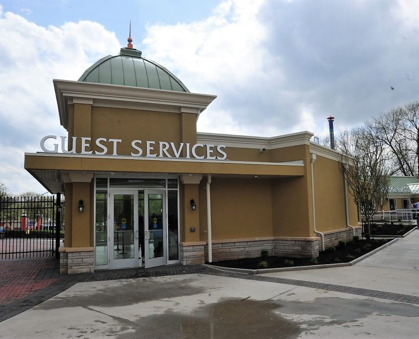 Worlds of Fun Guests Services Building Designed by Bleck & Bleck Architects