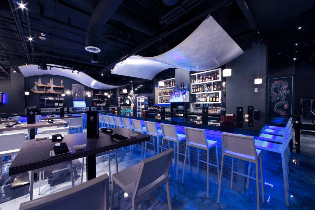 Restaurant design trends to embrace in bleck